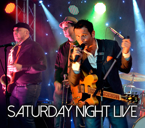 Saturday Night Live with The Simon Faulkner Band