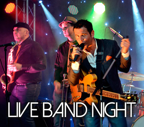 Christmas Live Band Night with  The Simon Faulkner Band!