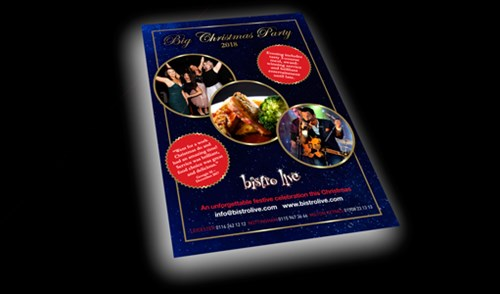 Bistro Live Christmas 2018 Brochure Request